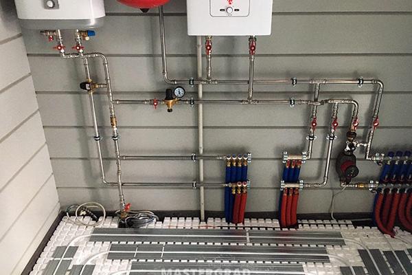 Разводка отопления в частном доме в Минске, Монтаж отопления, Разводка системы отопления в частном доме, Монтаж системы отопления Минск,